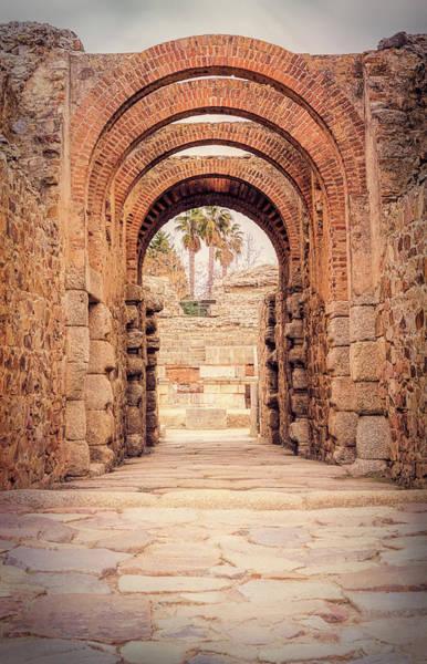 Photograph - Historic Arch Merida Spain by Joan Carroll