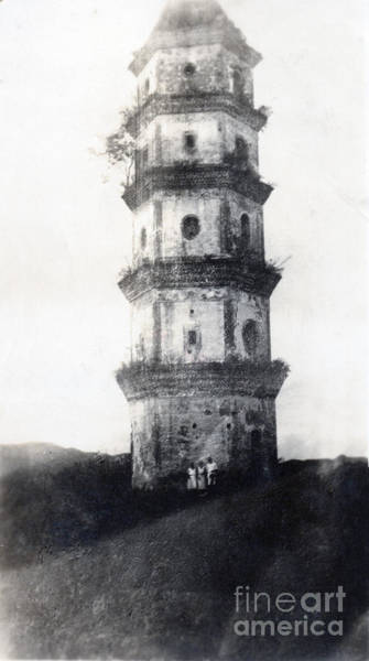 1900 Photograph - Historic Asian Tower Building by Jorgo Photography - Wall Art Gallery