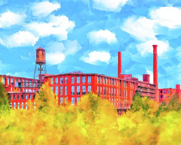 Mixed Media - Historic Atlanta - Fulton Cotton Mill by Mark E Tisdale