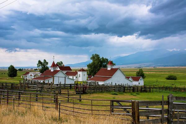 Westcliffe Photograph - Historic Beckwith Ranch by John Bartelt