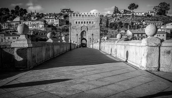 Photograph - Historic Bridge Toledo Spain by Joan Carroll