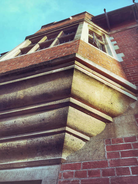 Download Photograph - Historic Building Detail by Tom Gowanlock