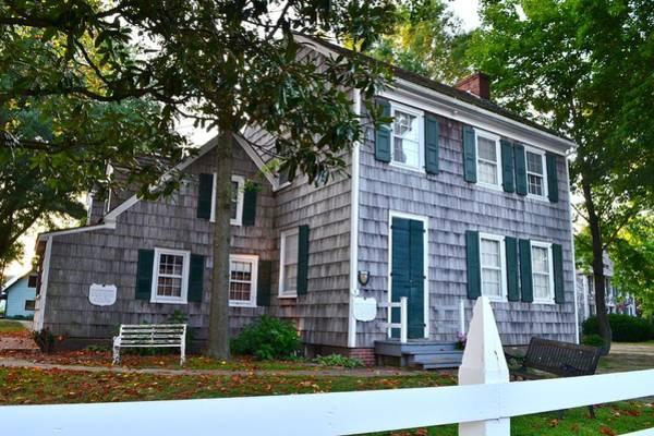 Photograph - Historic Burton-ingram House - Lewes Delaware by Kim Bemis