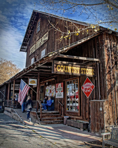 Rogue Valley Photograph - Historic Butte Creek Mill by Mick Anderson
