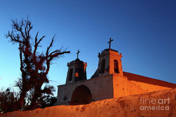 Photograph - Historic Chiu Chiu Church Chile by James Brunker