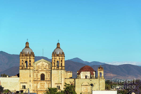 Wall Art - Photograph - Historic Church In Oaxaca by Jess Kraft