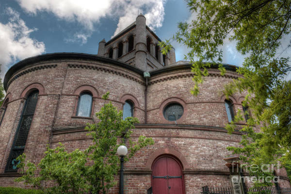 Photograph - Historic Circular Church Romanesque Architecture  by Dale Powell