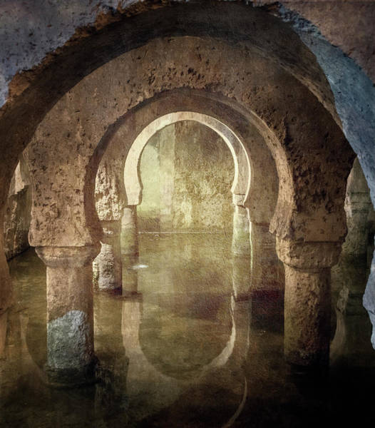 Photograph - Historic Cistern Caceres Spain by Joan Carroll