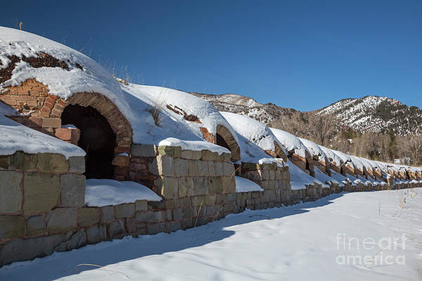 Photograph - Historic Coke Ovens by Jim West