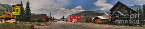 Photograph - Historic Cooke City Main Street by Adam Jewell