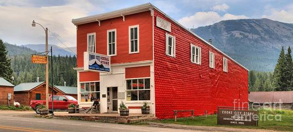 Photograph - Historic Cooke City Store by Adam Jewell