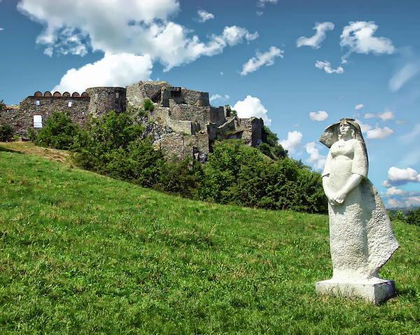 Photograph - Historic Devin Castle by Anthony Dezenzio