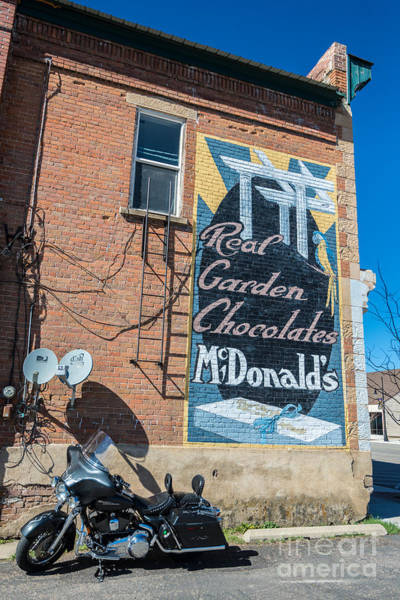 Real Ghosts Wall Art - Photograph - Historic Ghost Sign In Coalville - Utah by Gary Whitton