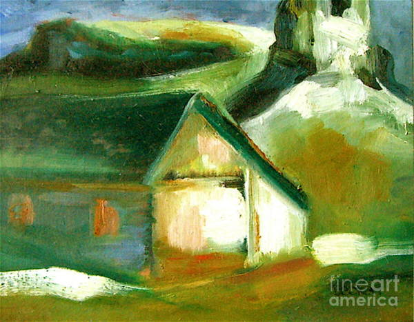 Painting - Historic Golden Colorado by Susan A Becker