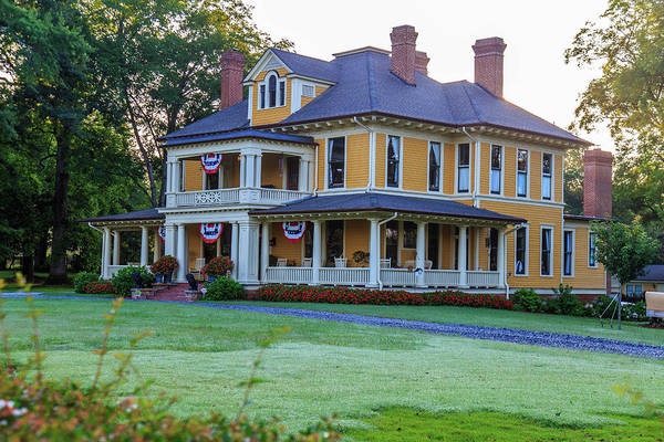 Photograph - Historic Home Ready For July 4th by Doug Camara