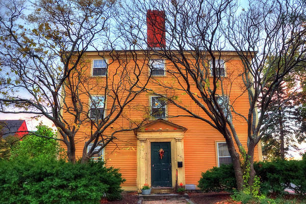 Photograph - Historic Home - Salem, Ma by Joann Vitali