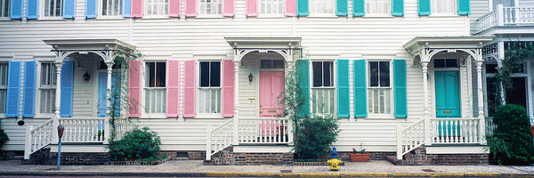Front Porch Photograph - Historic Homes, Savannah, Georgia by Panoramic Images