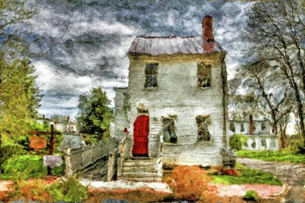 Wall Art - Photograph - Historic House In Smithville New Jersey by Geraldine Scull