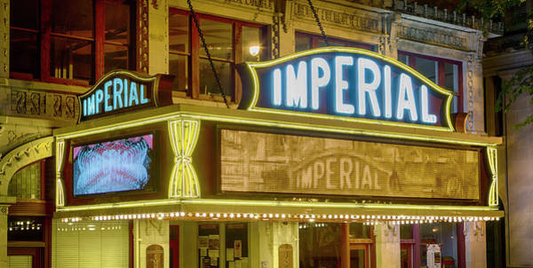 Wall Art - Photograph - Historic Imperial Theatre - Augusta by Stephen Stookey