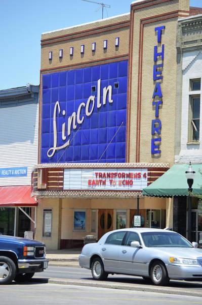 Photograph - Historic Lincoln Theatre Fayetteville Tn by Lesa Fine