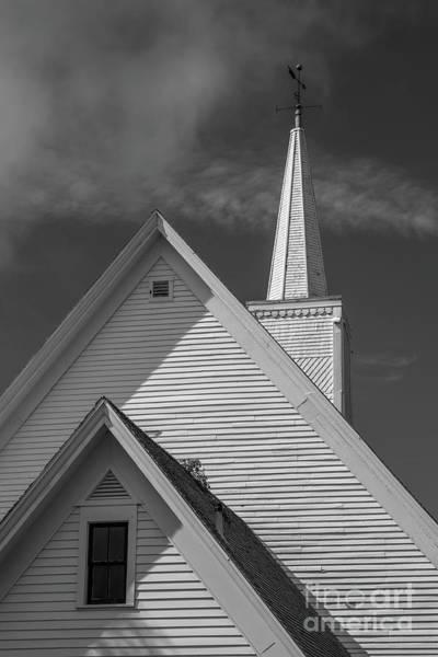 Photograph - Historic Long River Church Avonlea Village Pei by Edward Fielding