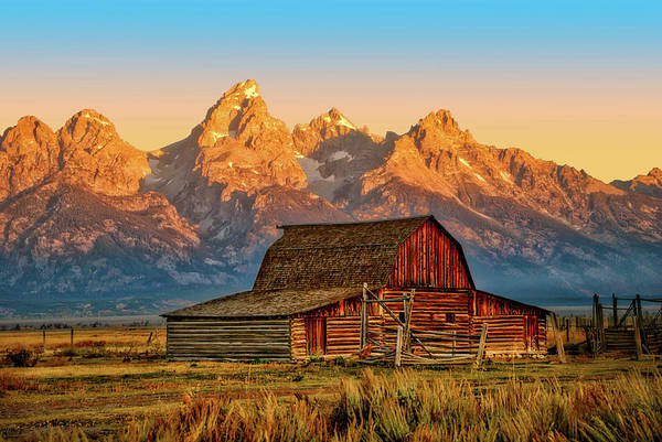 Photograph - Historic Moulton Barn, Grand Teton National Park by Stacey Sather