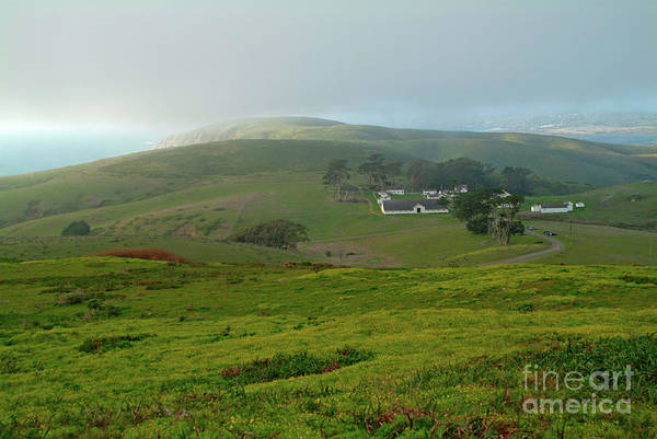 Photograph - Historic Pierce Point Ranch In Point Reyes by Charlene Mitchell