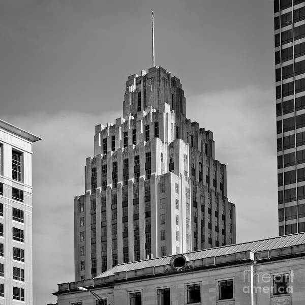 Photograph - Historic Reynolds Building 2 Bw by Patrick M Lynch