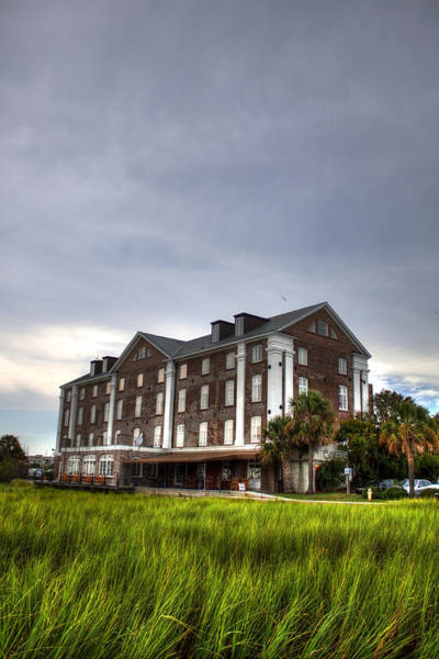 Rice Wall Art - Photograph - Historic Rice Mill Building by Dustin K Ryan