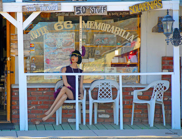 Photograph - Historic Route 66 Memorabilia by Victoria Oldham