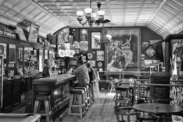 Gunslinger Photograph - Historic Saloon - Virginia City Montana by Daniel Hagerman