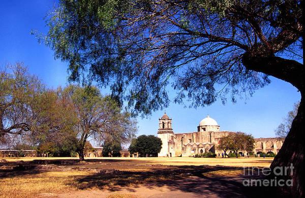 Photograph - Historic San Jose Mission San Antonio by Thomas R Fletcher