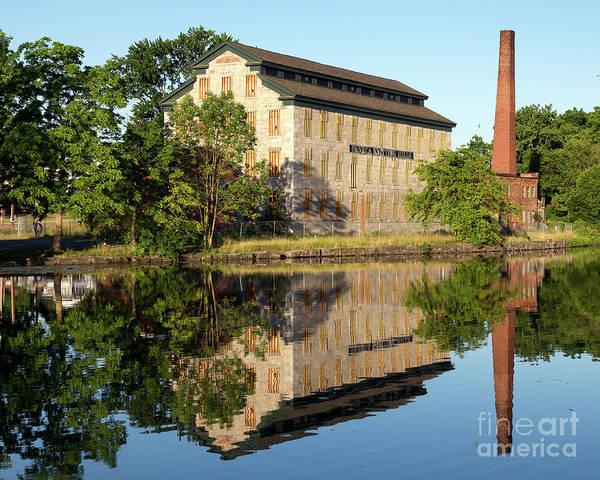 Photograph - Historic Seneca Knitting Mill by Rod Best