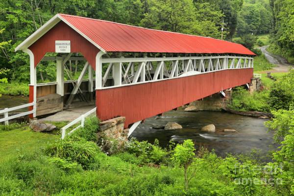Laurel Hill Creek Photograph - Historic Somerset Crossing by Adam Jewell