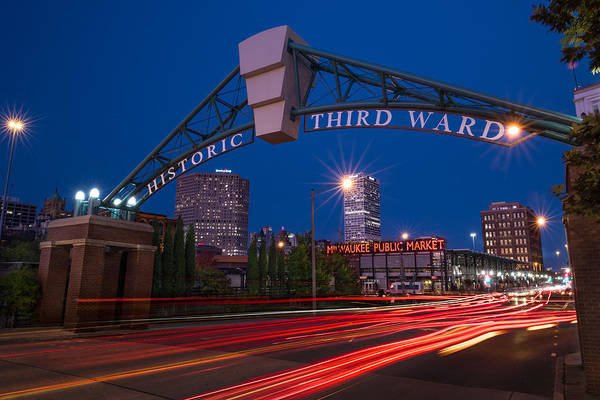 Ward Photograph - Historic Third Ward Milwaukee by Steve Gadomski