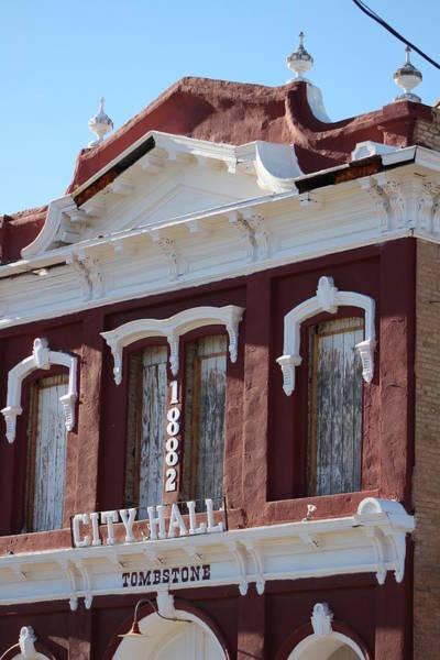 Photograph - Historic Tombstone City Hall by Colleen Cornelius
