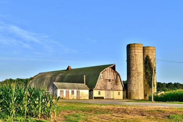 Photograph - Historic Townsend Barn - Lewes Delaware by Kim Bemis