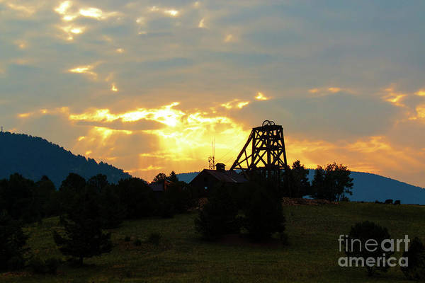 Photograph - Historic Victor Gold Mines by Steve Krull