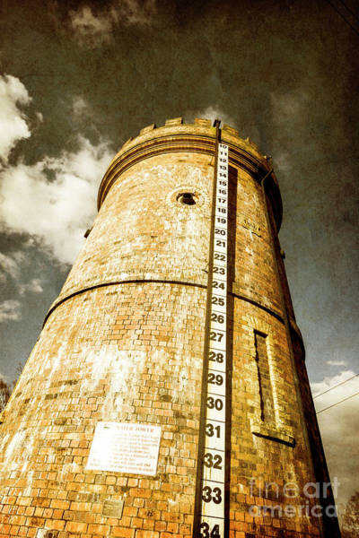 Silo Photograph - Historic Water Storage Structure by Jorgo Photography - Wall Art Gallery