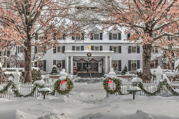 Photograph - Historic Woodstock Inn by Rod Best