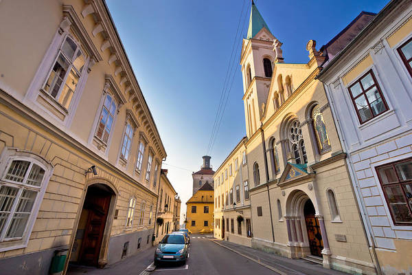 Wall Art - Photograph - Historic Zagreb Upper Town Street by Brch Photography