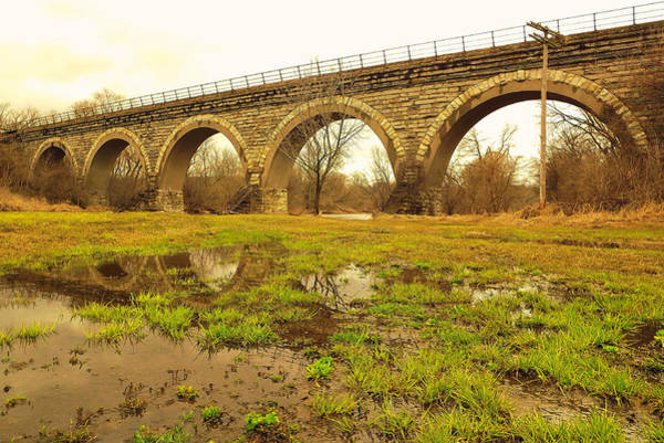 Photograph - Historical Five Arch Bridge  by Viviana  Nadowski