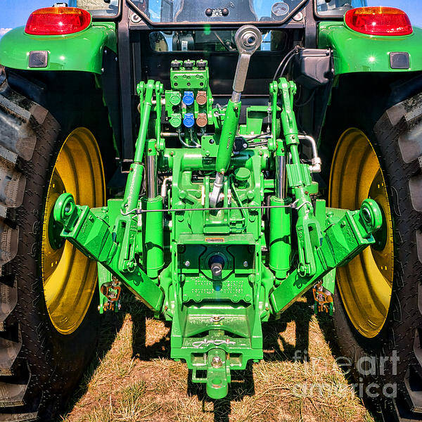 Manufacturers Photograph - Hitch A Deere  by Olivier Le Queinec