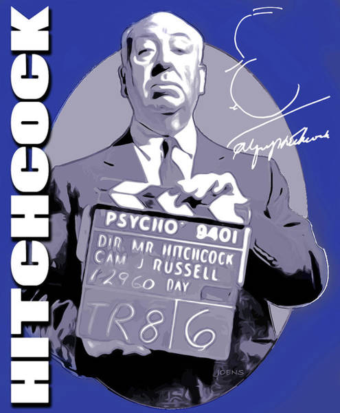 Digital Art - Hitchcock by Greg Joens