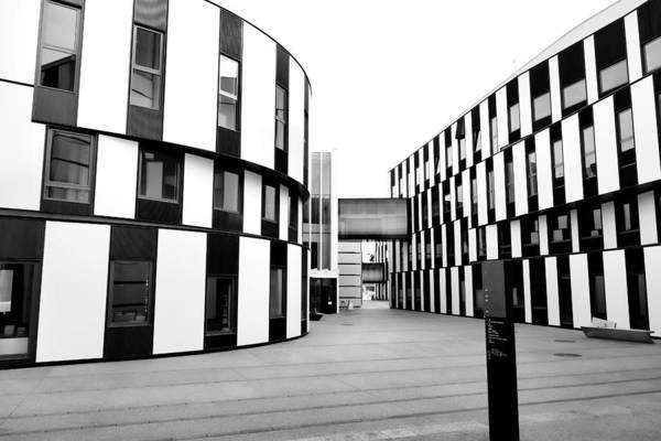 Photograph - Hitoshi Abe D2 And Sc - Wu Campus Vienna  by Menega Sabidussi