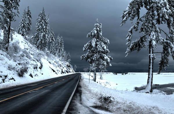 Photograph - Highway 200 Near Hope 2 by Lee Santa