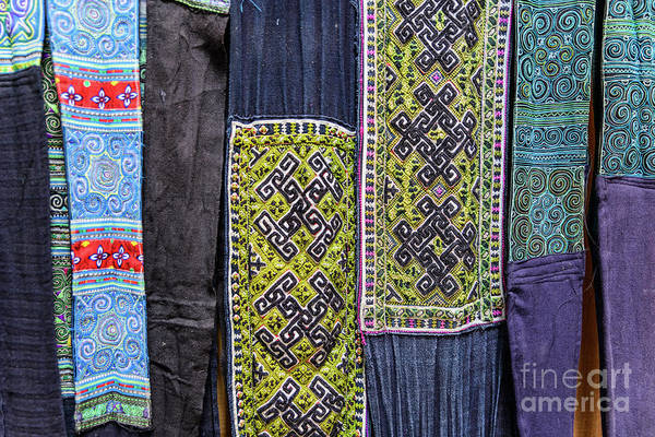 Photograph - Hmong Weaving 1 by Werner Padarin