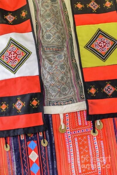 Photograph - Hmong Weaving 4 by Werner Padarin