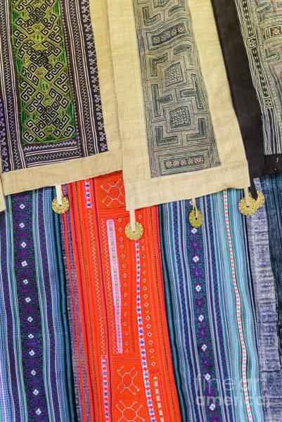 Photograph - Hmong Weaving 5 by Werner Padarin