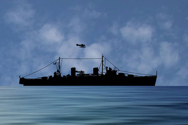 Wall Art - Photograph - Hms Aboukir 1936 V1 by Smart Aviation